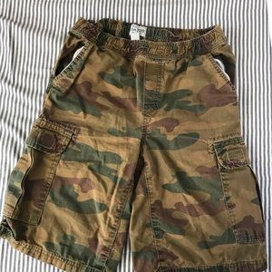 Children's Place Camouflage Cargo Shorts Boys 12